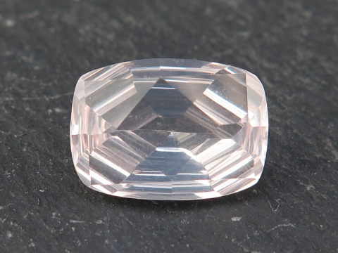 Rose Quartz Cushion Cut Rectangle 14mm
