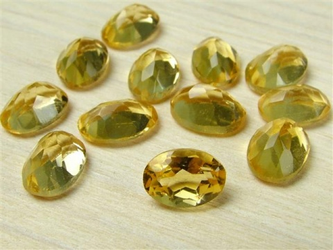Citrine Faceted Oval ~ Various Sizes