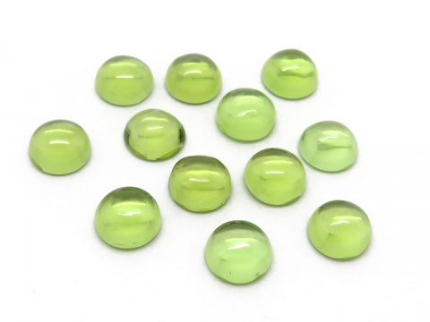 Peridot Round Cabochon ~ Various Sizes
