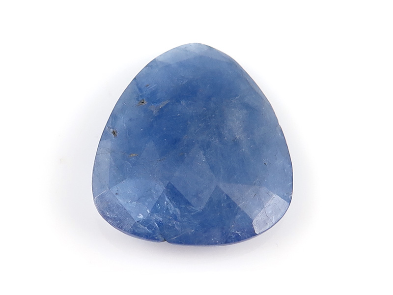 Tanzanite Freeform Faceted Slice 18mm
