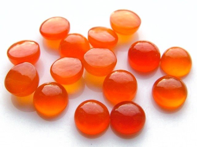 Carnelian Round Cabochon ~ Various Sizes