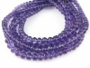 AA+ Amethyst Micro-Faceted Rondelles ~ 3.25-5.5mm