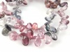 AA Multi Spinel Faceted Pear Briolettes ~ Various Sizes
