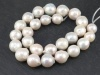 Freshwater Pearl Ivory Baroque Beads 13-16mm ~ 16'' Strand