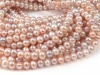 Freshwater Pearl Mixed Colour Potato Beads 7-7.5mm ~ 16'' Strand