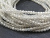 AAA Grey Zircon Faceted Rondelle Beads 2.25mm ~ 13'' Strand