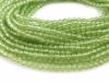 AAA Peridot Micro-Faceted Round Beads 2.75mm ~ 12.5'' Strand