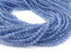 Tanzanite Faceted Round Beads 2.75mm ~ 12.5'' Strand