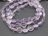 AAA Pink Amethyst Faceted Coin Beads 7.5-8.5mm ~ 8.5'' Strand
