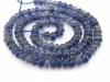 AA Iolite Smooth Rondelles 4.5-5mm ~ 14'' Strand