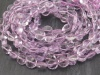 AA Pink Amethyst Faceted Coin Beads 7-7.5mm ~ 15'' Strand