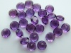 African Amethyst Faceted Round ~ Various Sizes