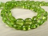 AA+ Peridot Micro-Faceted Oval Beads 5.5-7.5mm ~ 9.5'' Strand