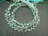 Aquamarine Faceted Heart Briolettes 5.5-6mm ~ 7.5'' Strand