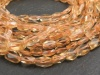 Citrine Faceted Rectangle Beads 6-7mm ~ 14'' Strand