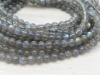AA Labradorite Smooth Round Beads ~ 15'' Strand ~ Various Sizes
