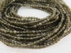 AAA Chrysoberyl Micro-Faceted Rondelles 2.5mm ~ 13'' Strand