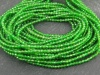 AAA Chrome Diopside Micro-Faceted Rondelles 2.25mm ~ 13'' Strand