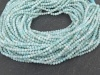 AA Larimar Micro-Faceted Rondelles 2mm ~ 13'' Strand