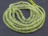 Chrysoberyl Smooth Rondelles 2.5-4.75mm ~ 17'' Strand