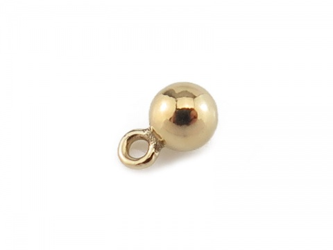 Gold Filled Ball Charm 3mm