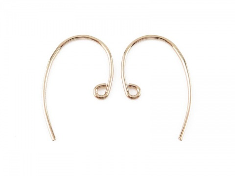 Gold Filled Ear Wire ~ PAIR