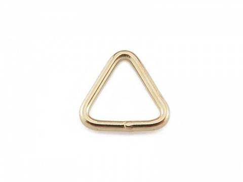 Gold Filled Closed Triangle Component 5mm