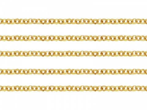 Gold Filled Rolo Chain 2.5mm ~ by the Foot