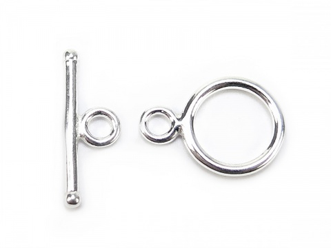 Sterling Silver Toggle and Bar Clasp 11.25mm