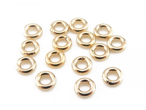 Gold Filled Closed Jump Ring 3mm ~ 20ga ~ Pack of 10