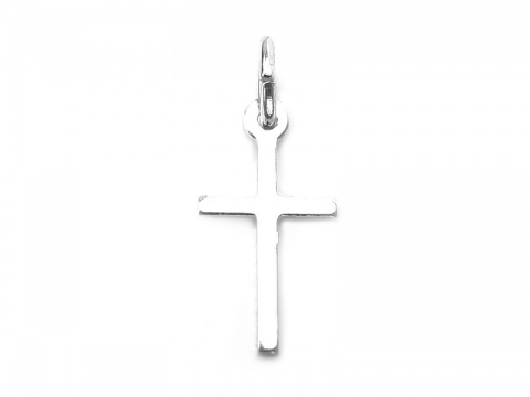 Sterling Silver Cross Pendant 13mm