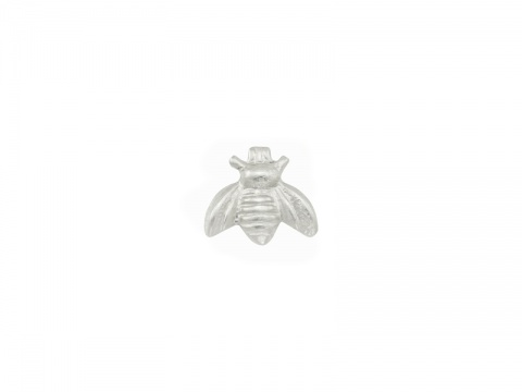 Sterling Silver Bee Solderable Accent 6.25mm