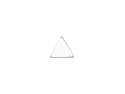 Sterling Silver Triangle Solderable Accent 5mm