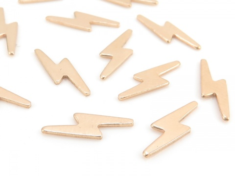 Gold Filled Lightning Solderable Accent 11.25mm