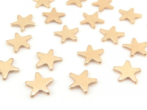 Gold Filled Star Solderable Accent 5.25mm