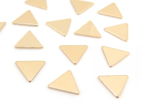 Gold Filled Triangle Solderable Accent 5mm