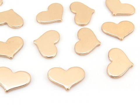 Gold Filled Heart Solderable Accent 5mm