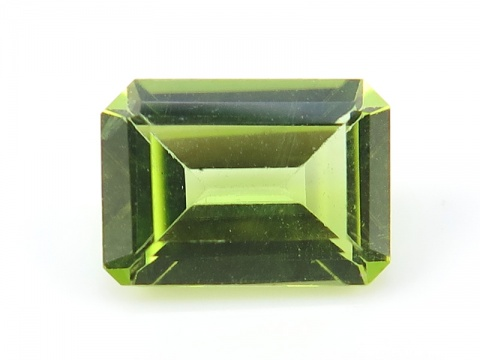 Peridot Faceted Octagon ~ Various Sizes
