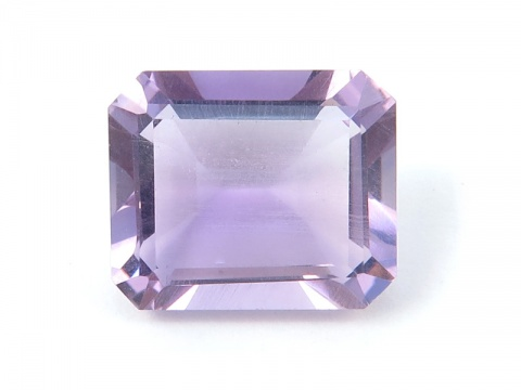 Brazilian Amethyst Faceted Octagon 12mm x 10mm