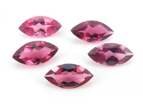 Pink Tourmaline Faceted Marquise ~ Various Sizes