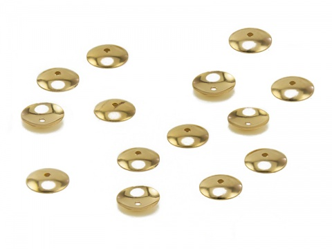 14K Gold Bead Cap 5mm