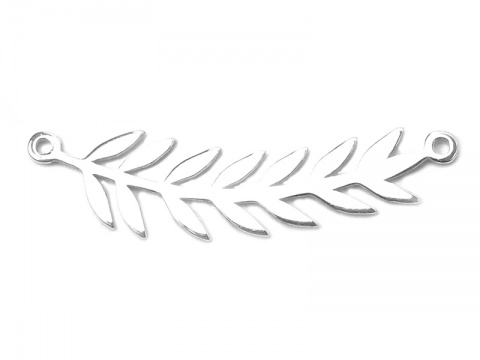 Sterling Silver Branch Connector 29mm