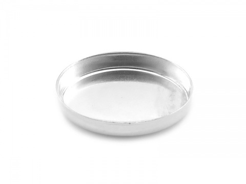 Sterling Silver Oval Bezel Cup Setting 14mm x 10mm