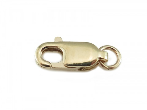 14K Gold Lobster Claw Clasp 10mm