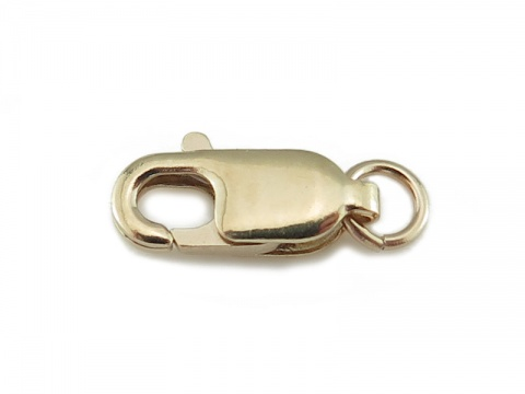 14K Gold Lobster Claw Clasp 12mm