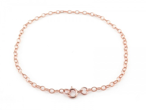Rose Gold Filled Cable Chain Bracelet ~ 7.5''