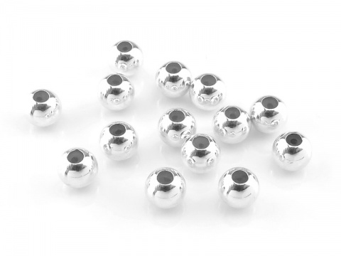 Sterling Silver Smart Bead 4mm (0.5mm ID)