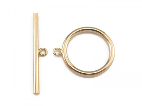 Gold Filled Toggle and Bar Fastener 20mm