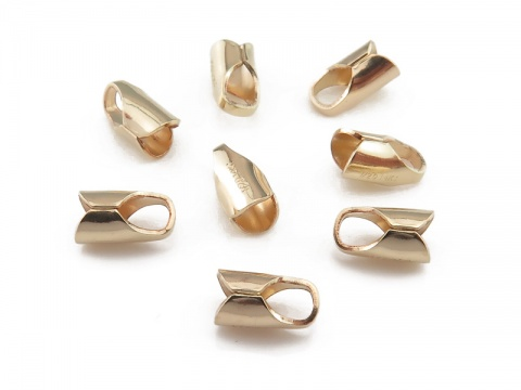 Gold Filled Round End Cap 3mm ID