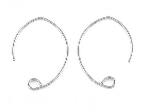 Sterling Silver V Shape Ear Wire ~ PAIR